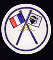 BADGE NATIONAL PT brodé main